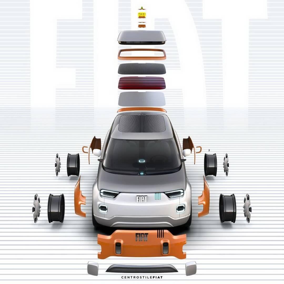 Модульный электромобиль сполной настройкой под клиента