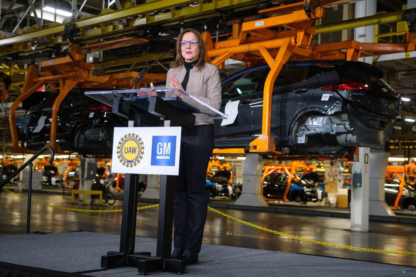 Исполнительный директор General Motors Мэри Барра