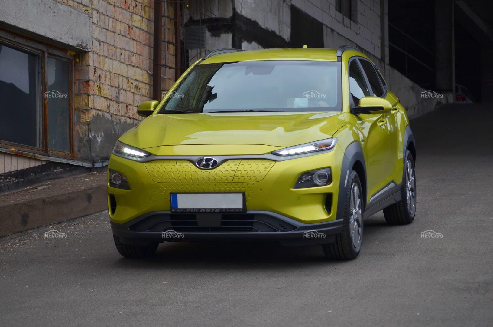 Электромобиль Hyundai Kona Electric