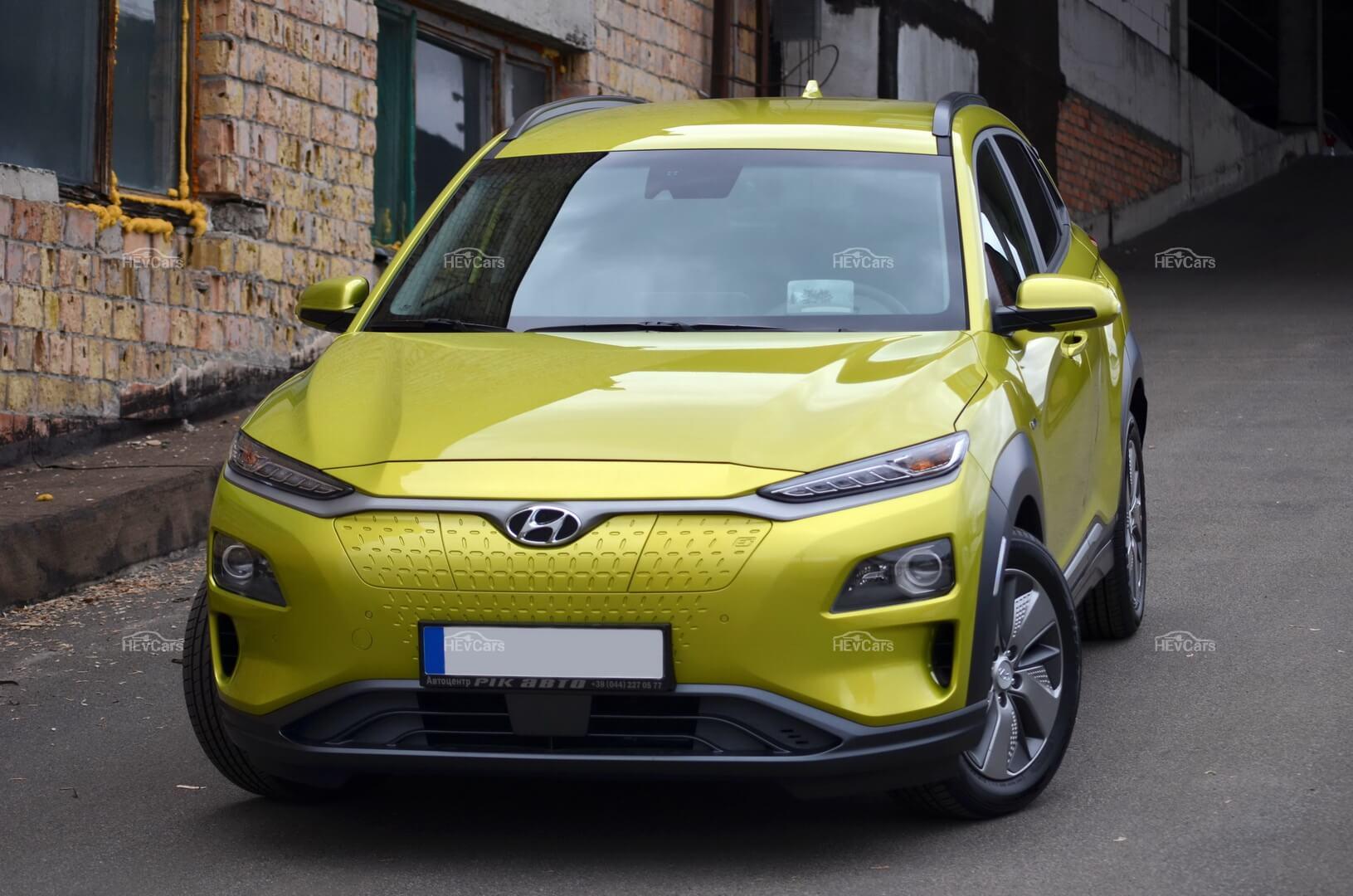 Hyundai Kona Electric— это 100% городской автомобиль