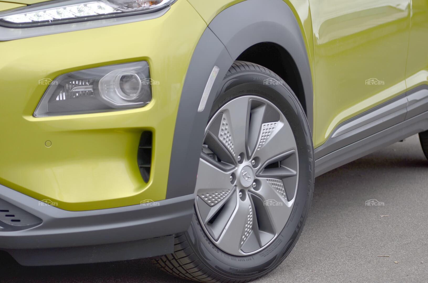 17-ти дюймовые диски Hyundai Kona Electric