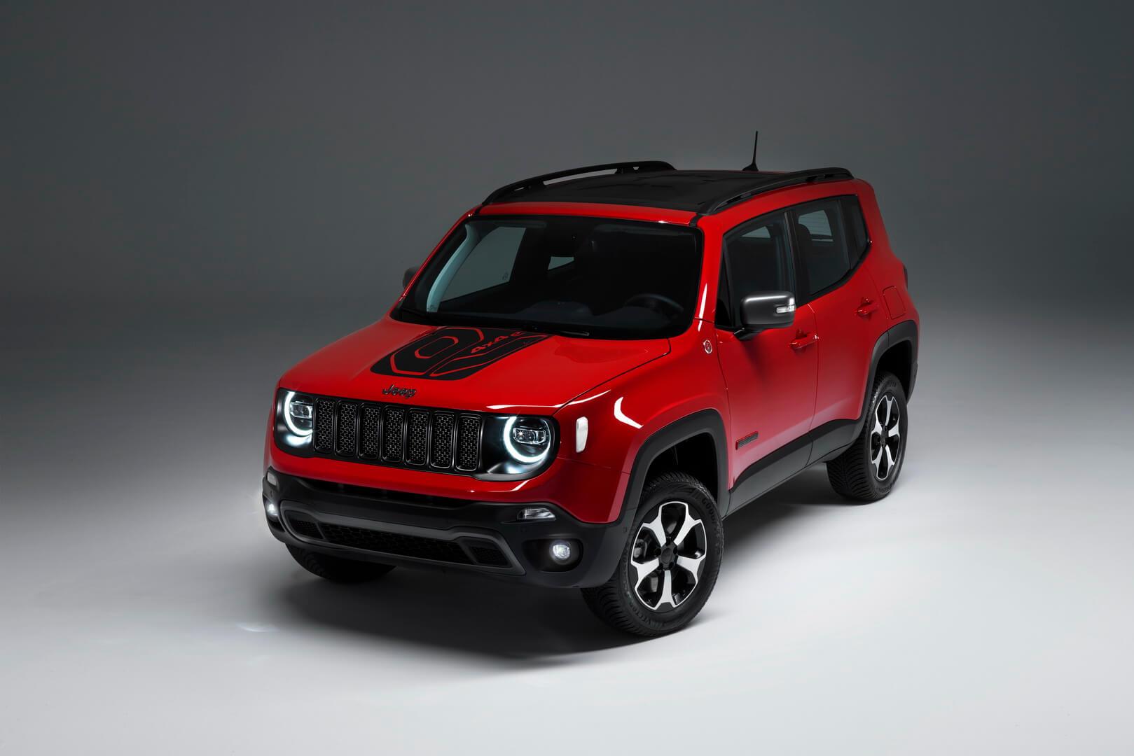 Плагин-гибрид Jeep Renegade PHEV