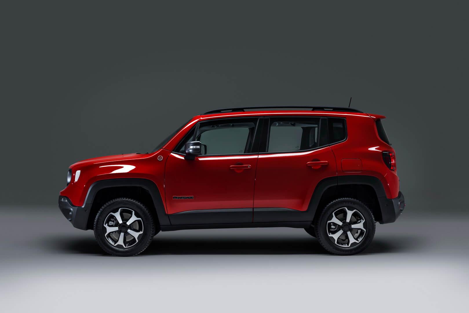 Плагин-гибрид Jeep Renegade