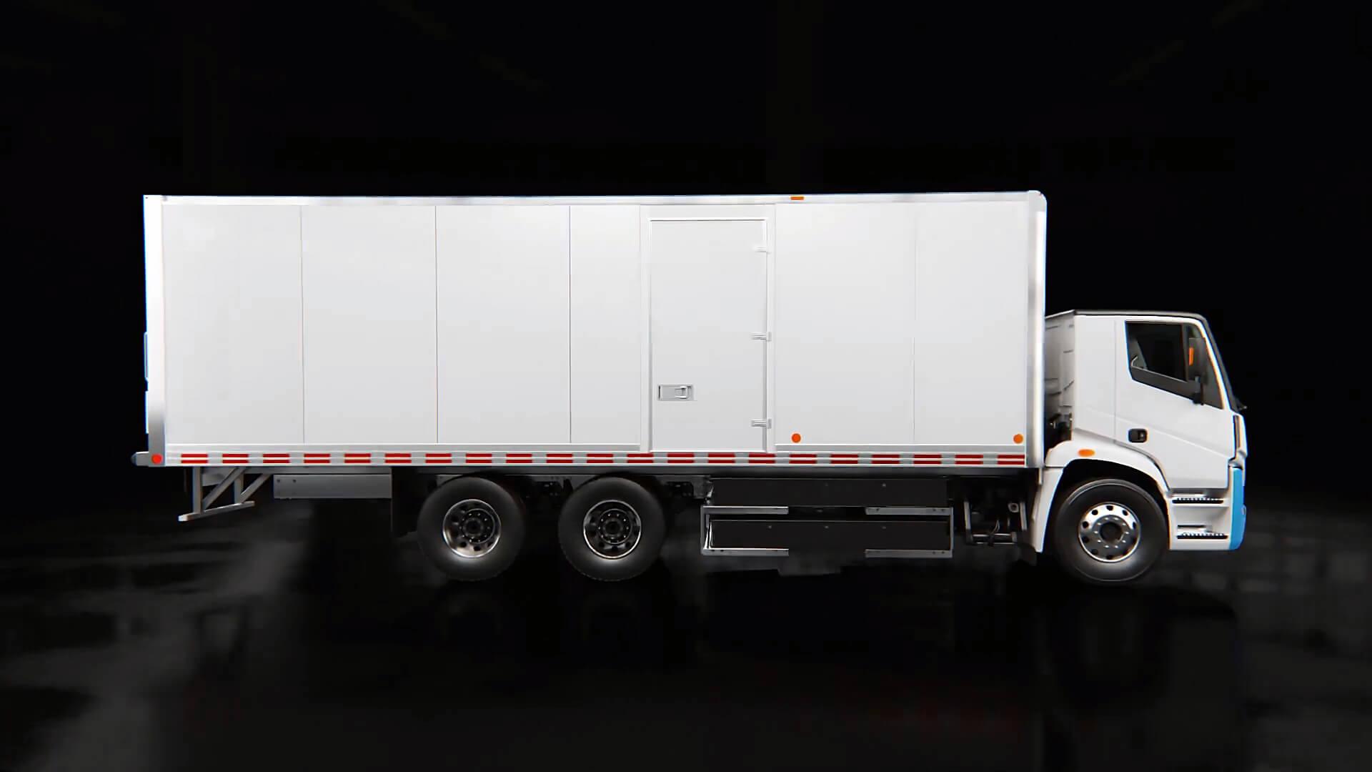 Lion Electric представил свой первый полностью электрический городской грузовик класса 8