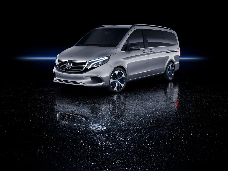 Электрофургон Mercedes EQV Concept