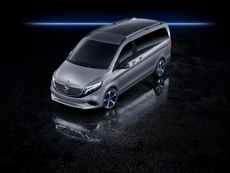 Электрофургон Mercedes EQV Concept - фото 3
