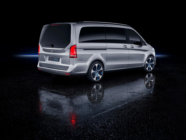Электрофургон Mercedes EQV Concept - фото 2