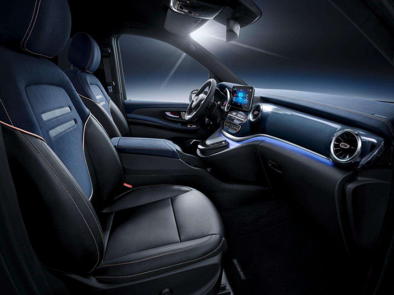Передний ряд сидений Mercedes EQV