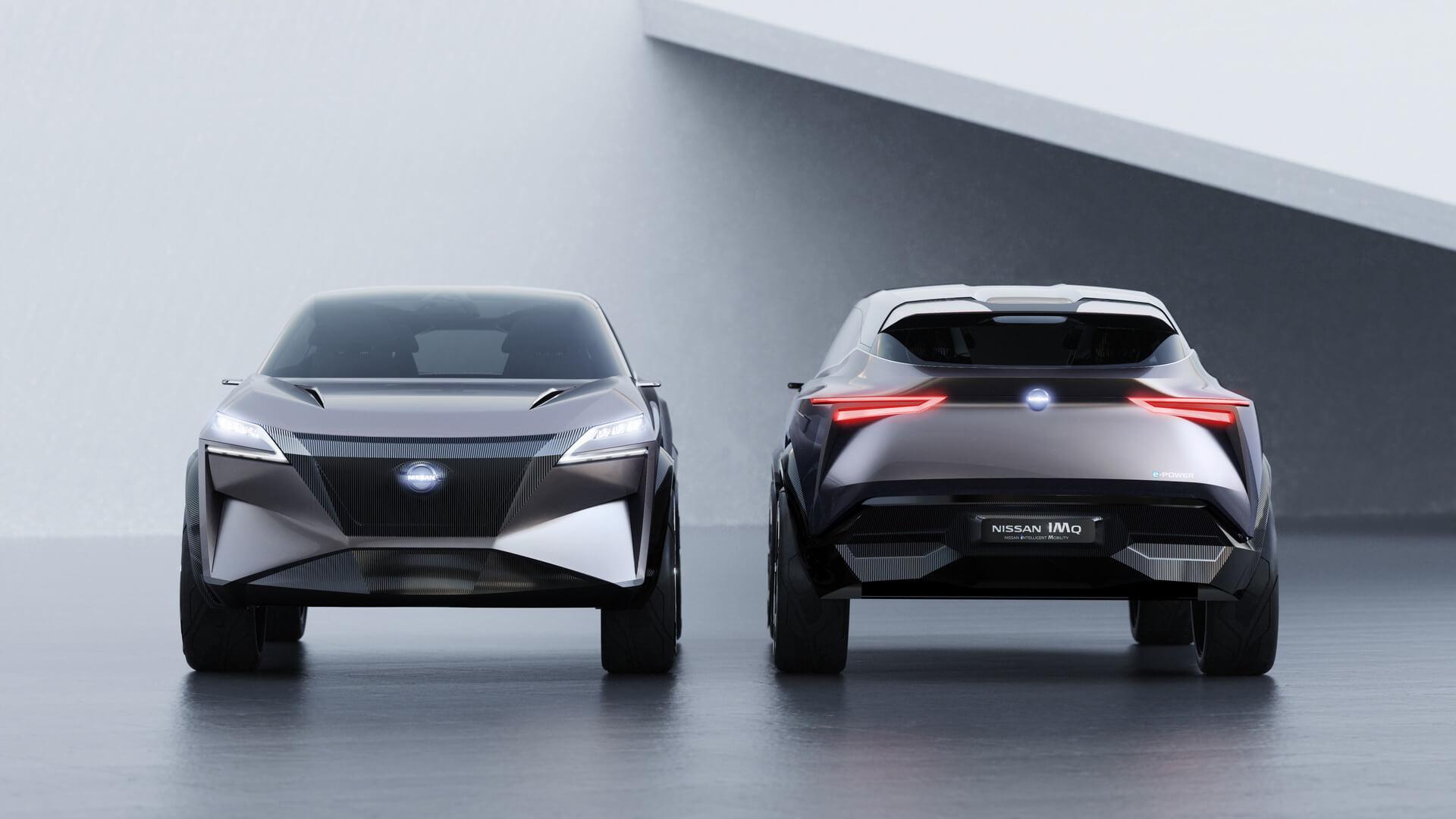 Nissan представил модель IMQ сгибридной технологией следующего поколения