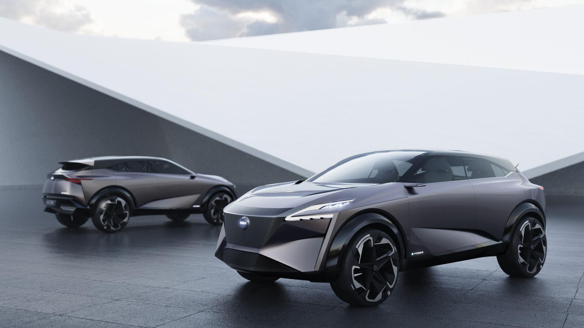 Nissan IMQ: гибридный кроссовер с технологией e-POWER мощностью 250 кВт