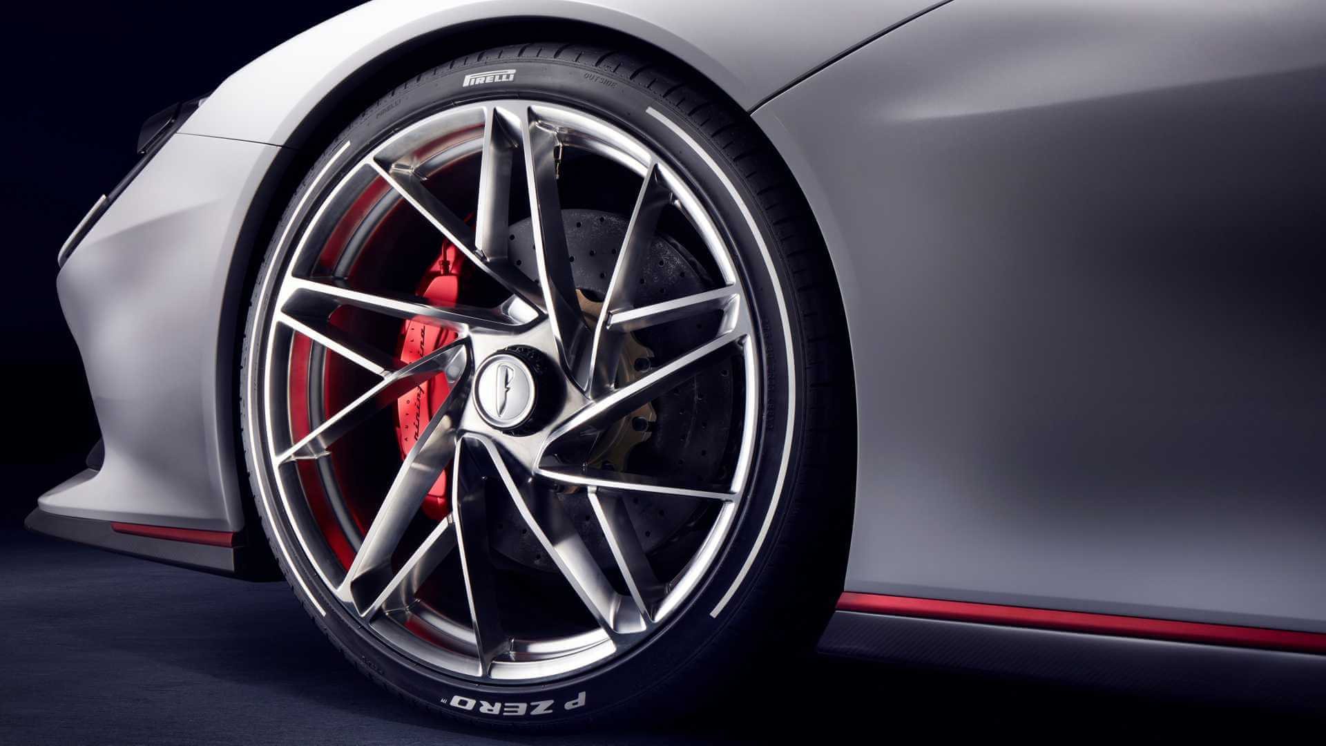 Pininfarina показала новый тизер электрического суперкара Battista