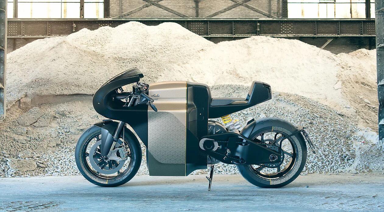 Электромотоцикл Saroléa Manx7