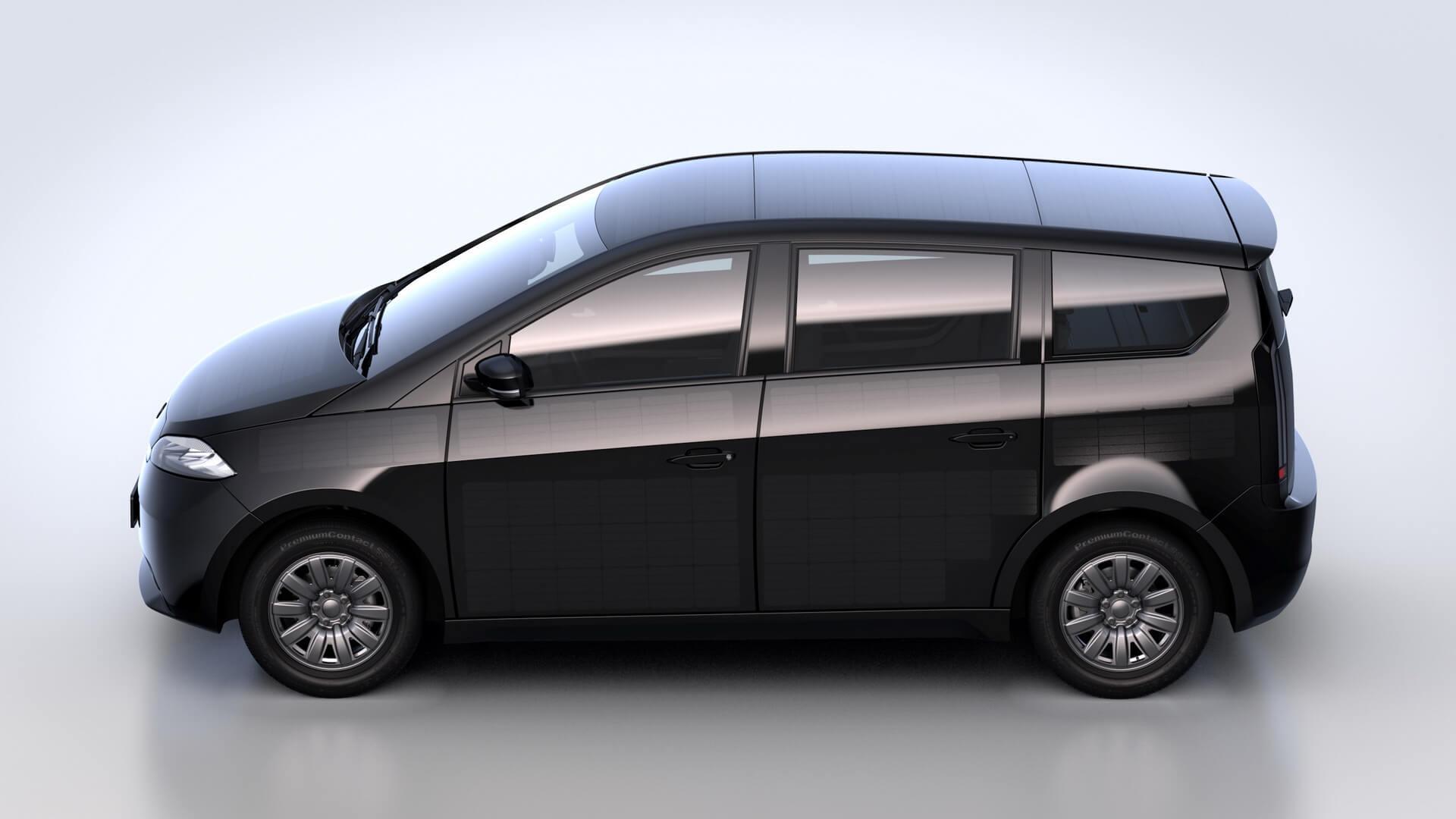 Электромобиль Sion: автономность запаса хода без розетки 34км