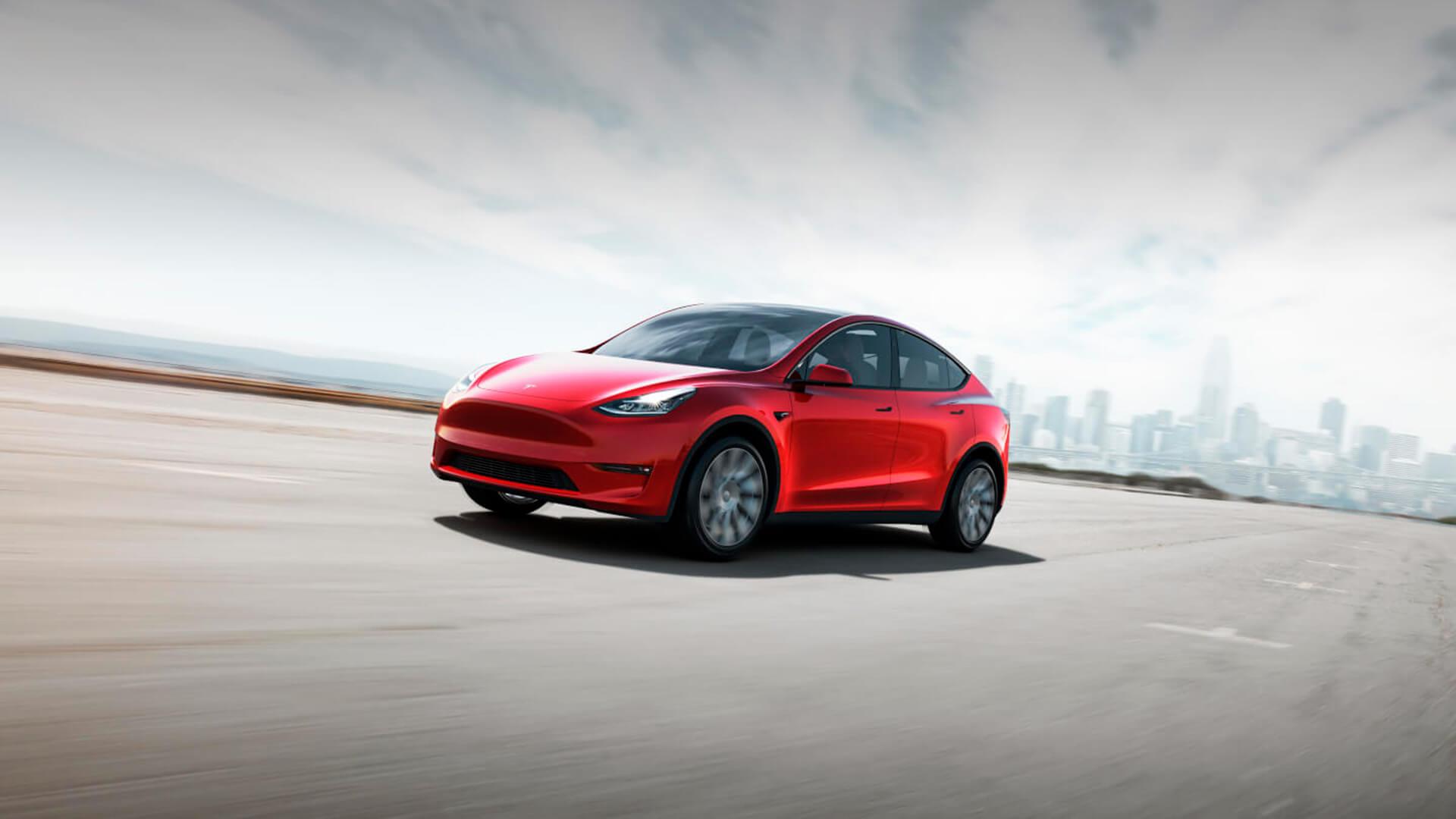 Электрический кроссовер Tesla Model Y