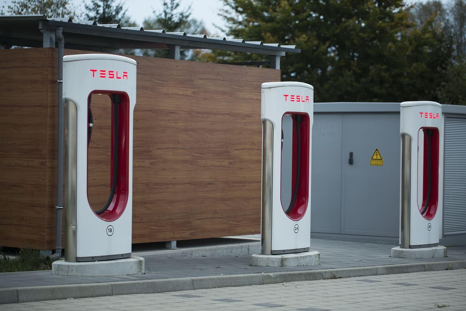 Станция Tesla Supercharger