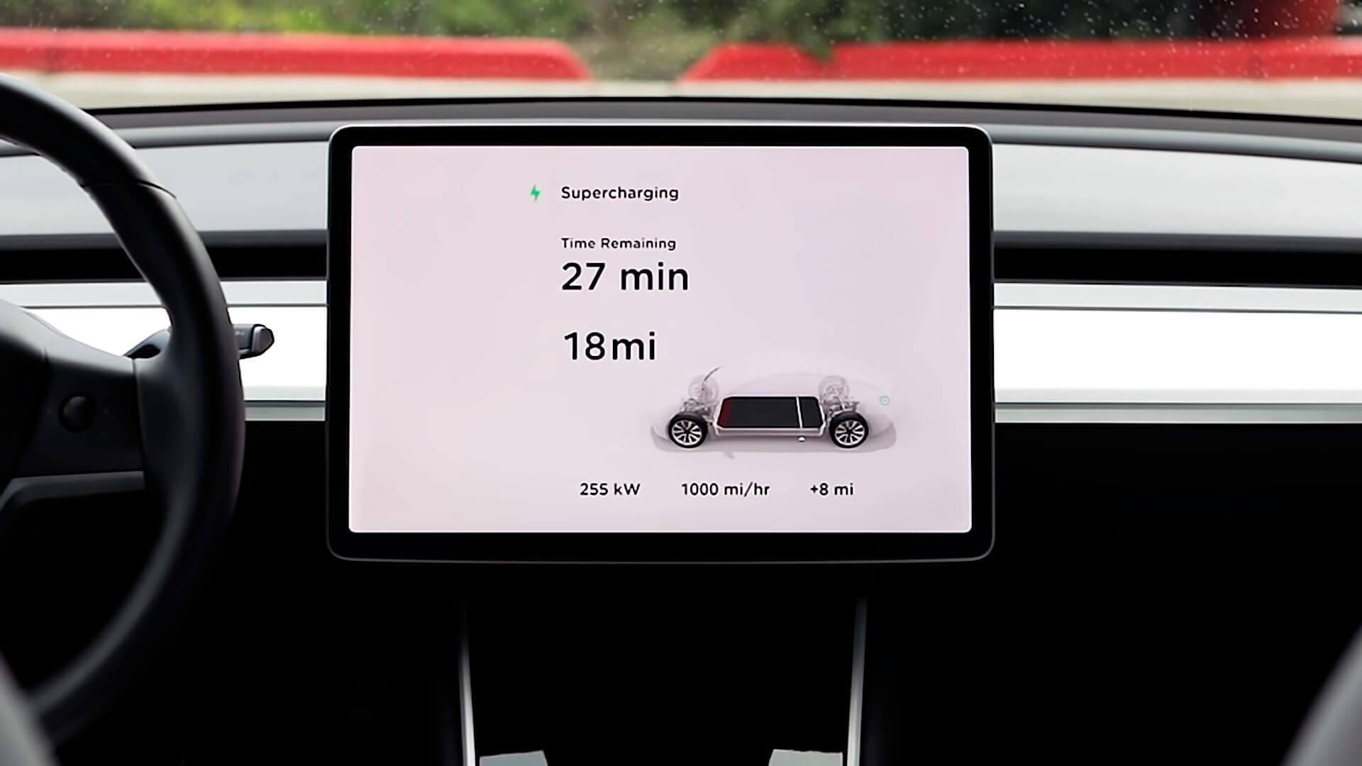 Supercharger V3 смогут вдва раза быстрее заряжать, чем Supercharger V2