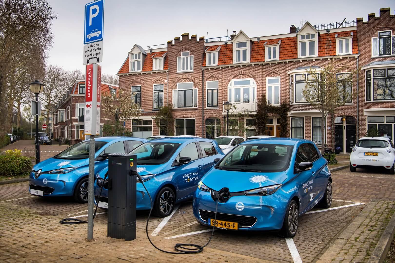 Renault тестирует двунаправленную зарядку V2G в Нидерландах