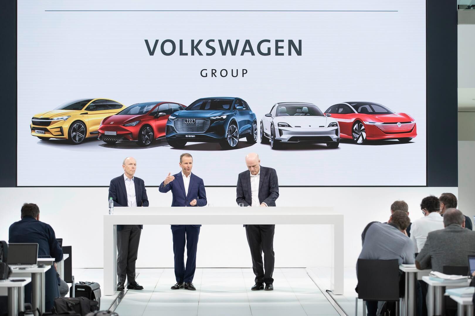 Volkswagen меняет «электрическую» стратегию развития