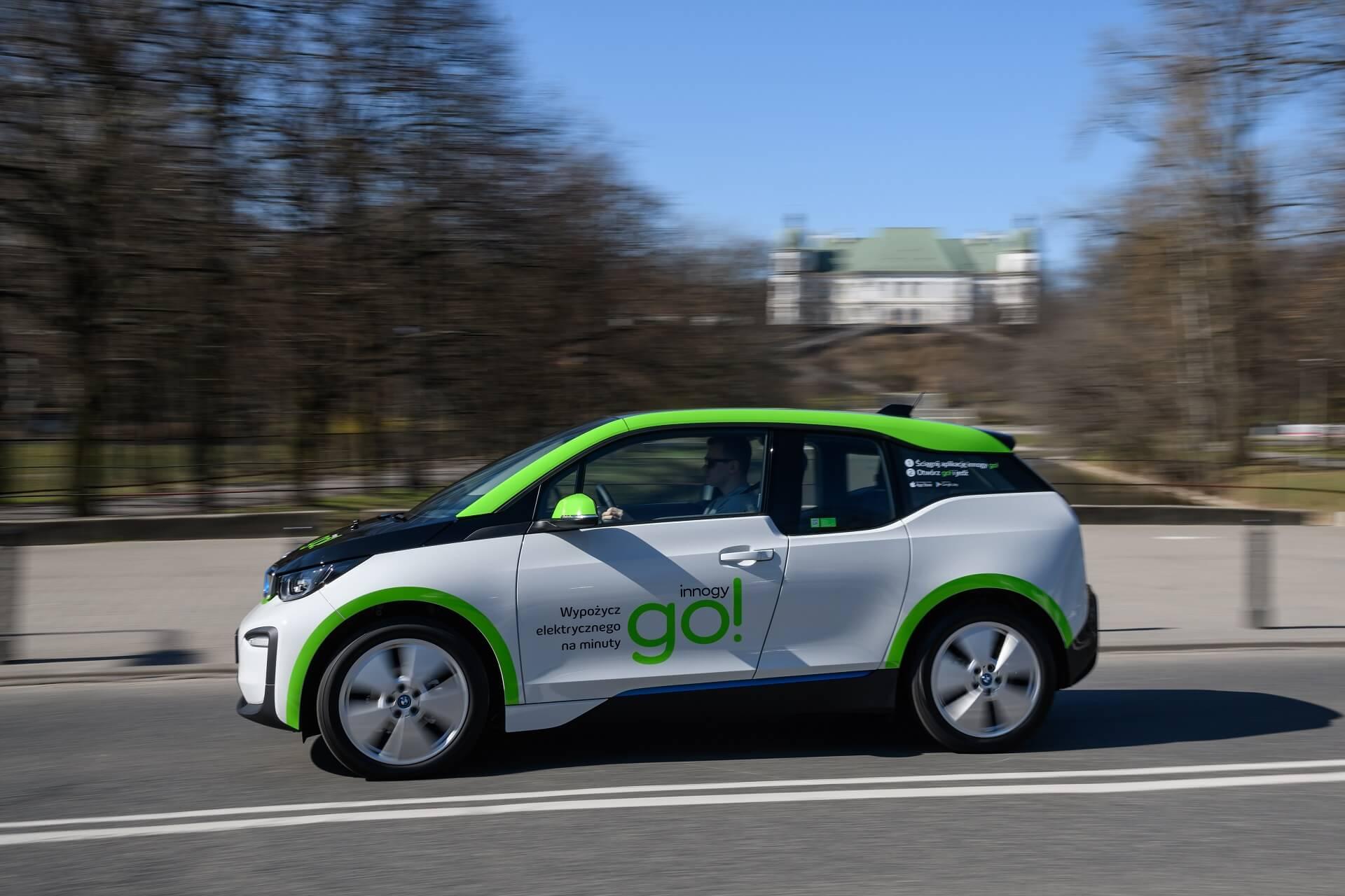 500 электромобилей BMW i3 стали доступны для каршеринга в Варшаве