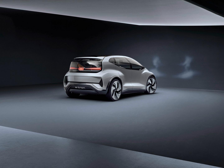 Концепт электромобиля AI:ME с автопилотом 4 уровня