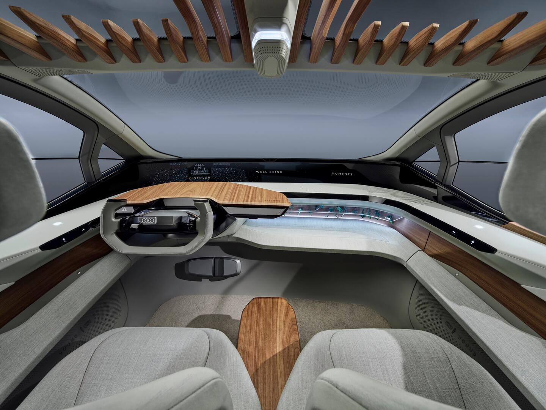 Приборная панель электромобиля Audi AI:ME