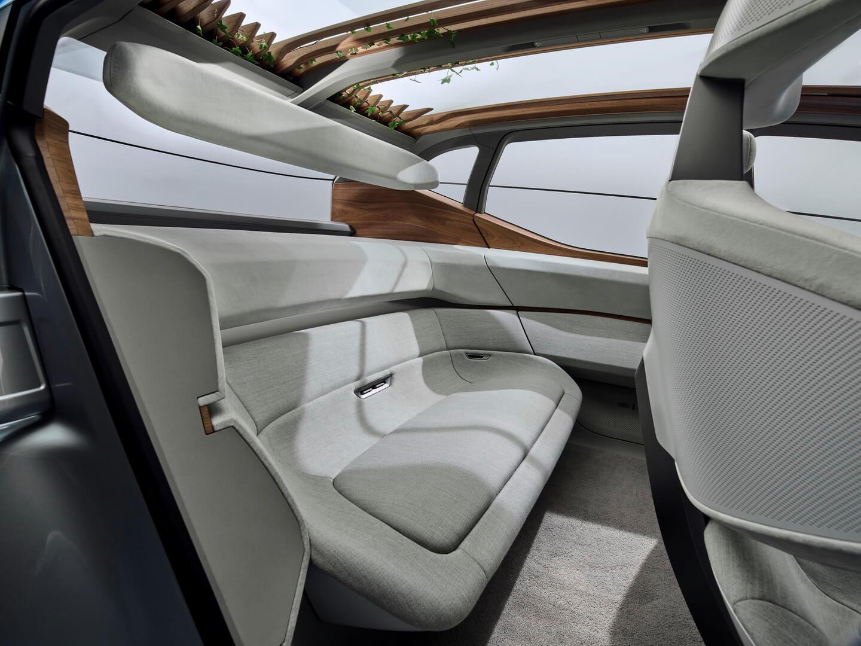 Компоновка пассажирских мест в Audi AI:ME