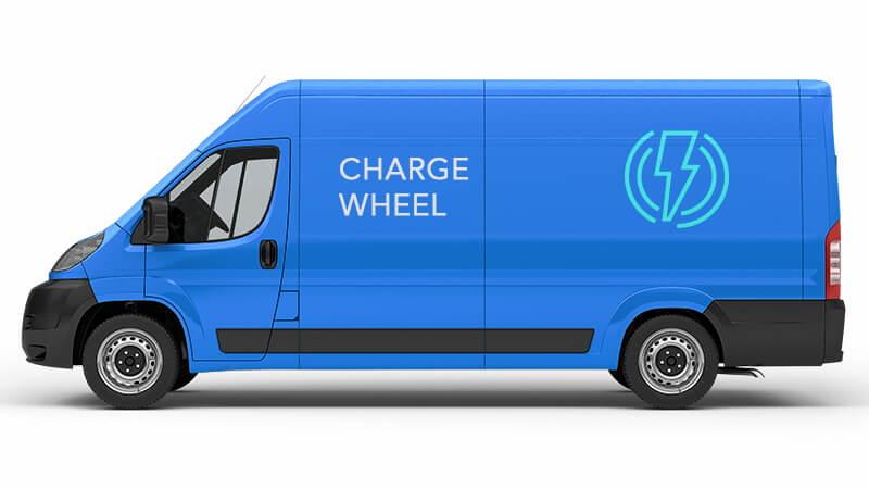 ChargeWheel разработала фургоны для доставки электроэнергии