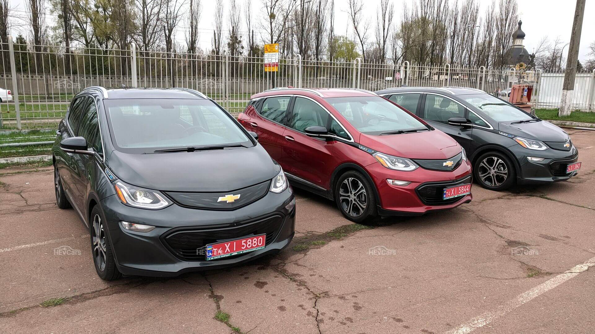 Электромобили Chevrolet Bolt EVспробегом около 160 000 км