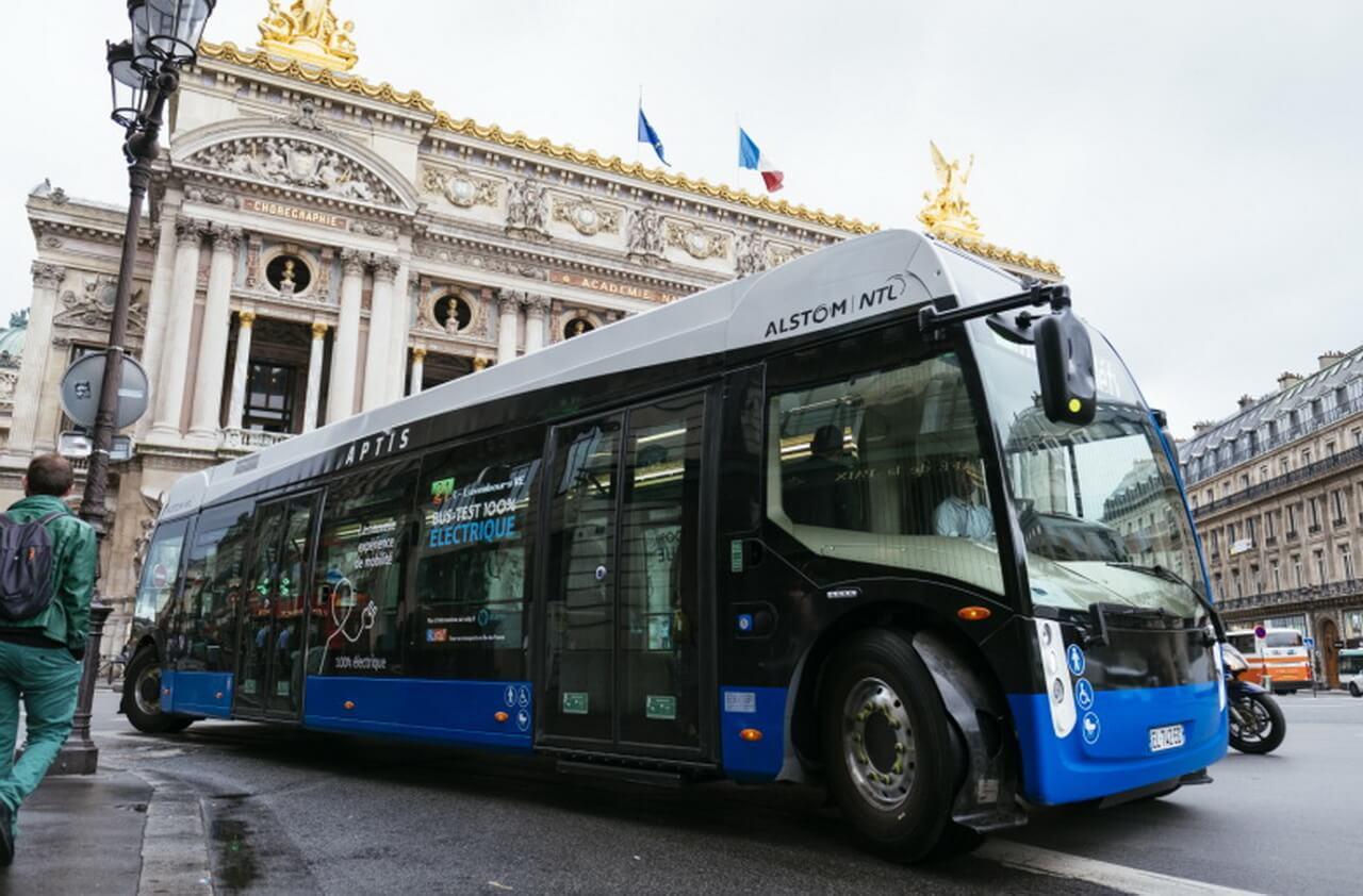 У электроавтобуса Alstom Aptis аккумуляторы и системы электропитания будут размещены на крыше как у трамваев
