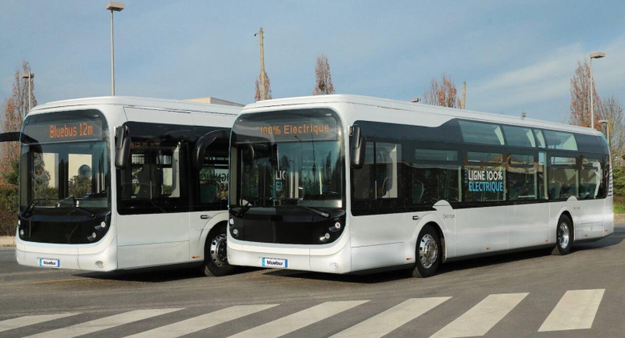12-метровый электрический автобус Bolloré Bluebus