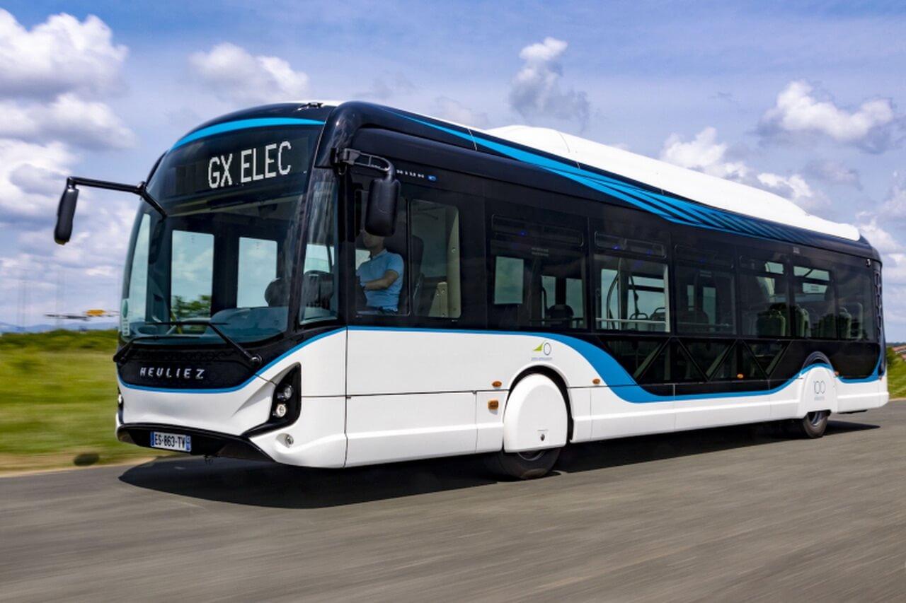 12-метровый электрический автобус Heuliez Bus GX337