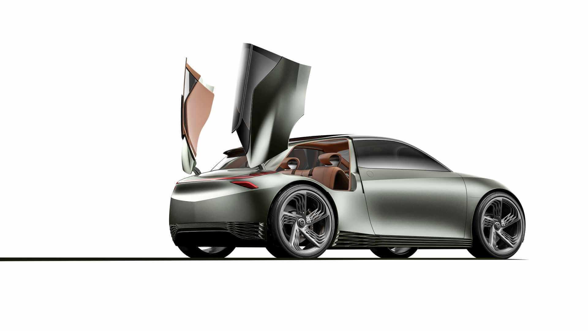 Концепт городского электромобиля Genesis Mint