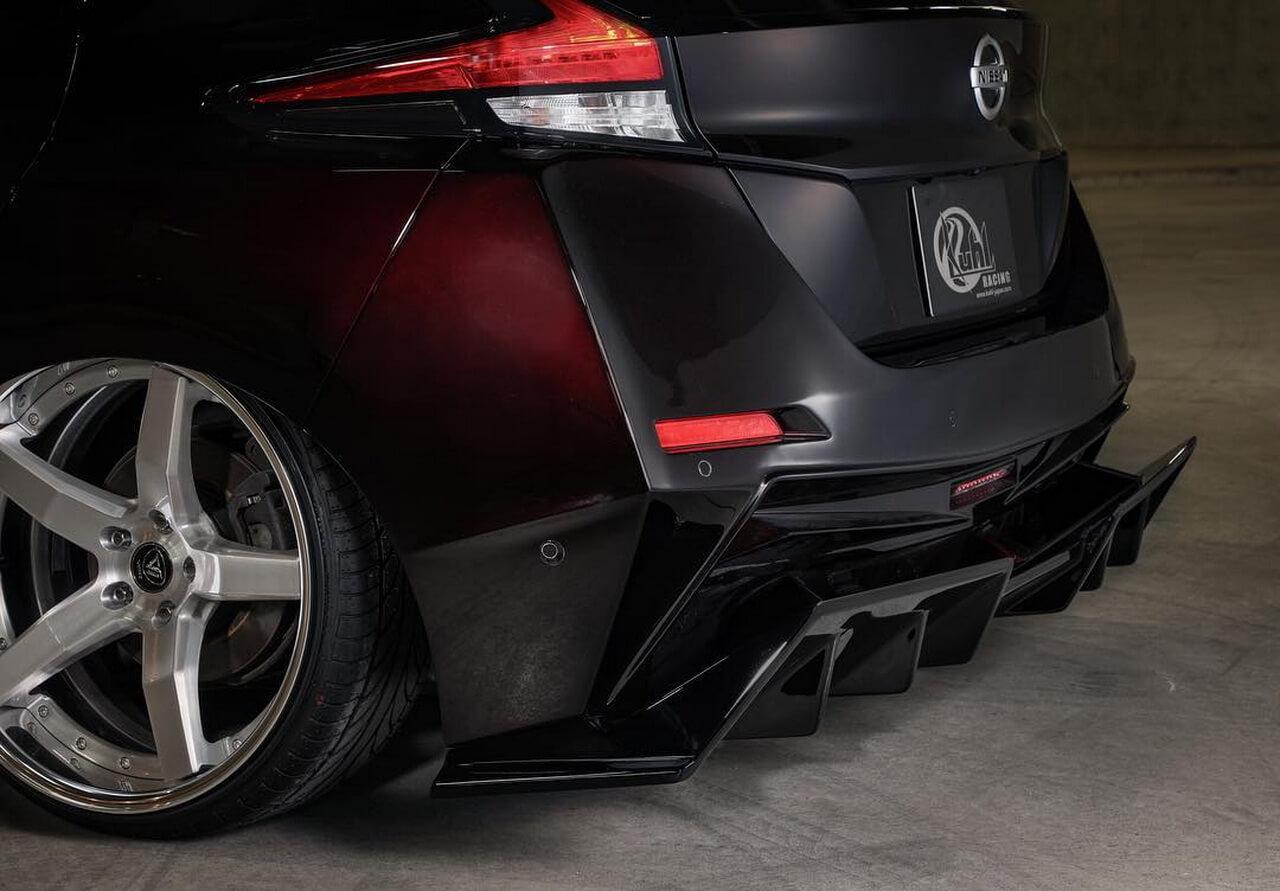 Тюнингованный Nissan Leaf 2018 - фото 3
