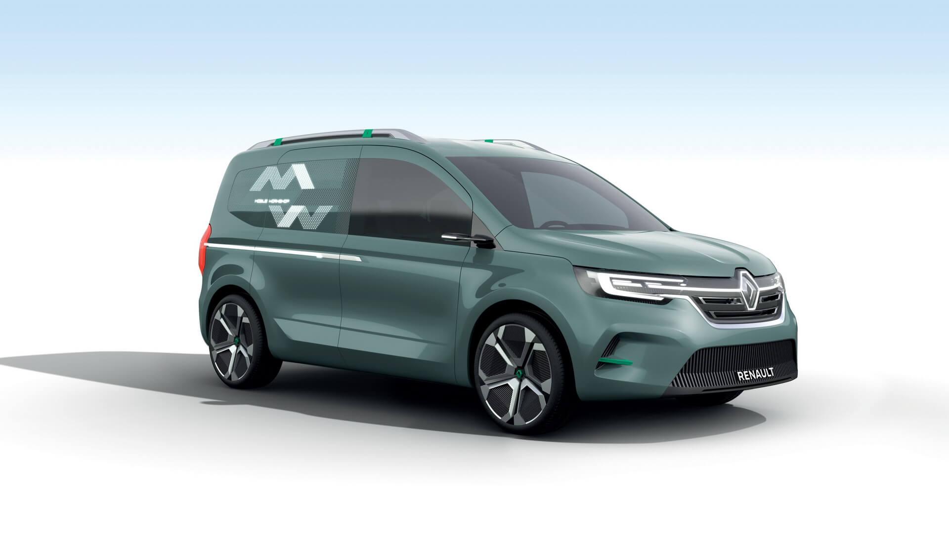 Концепт электрического фургона Renault Kangoo Z.E. 2020
