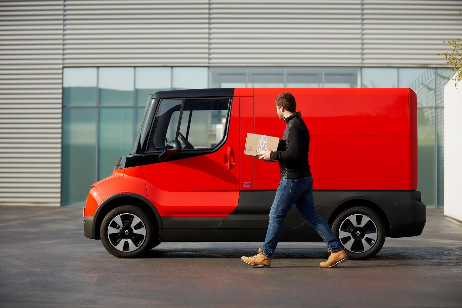 Renault представляет электрофургон EZ-Flex с запасом хода 150 км