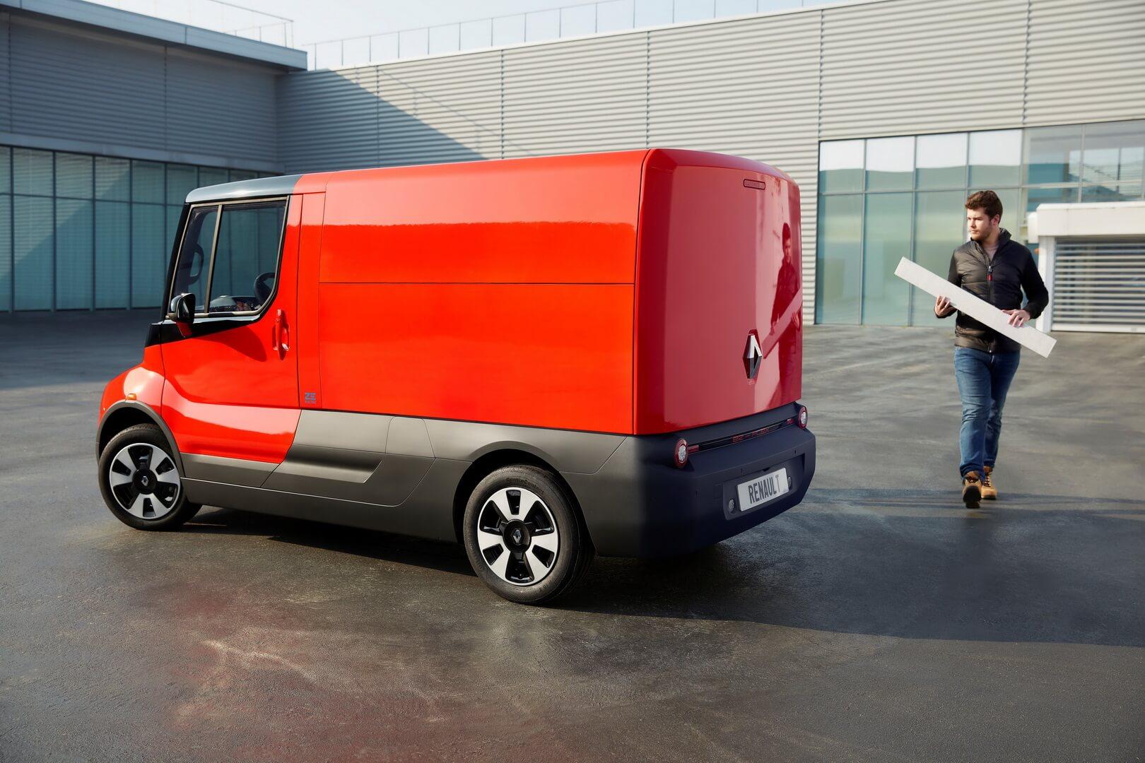 Электрический фургон EZ-FLEX