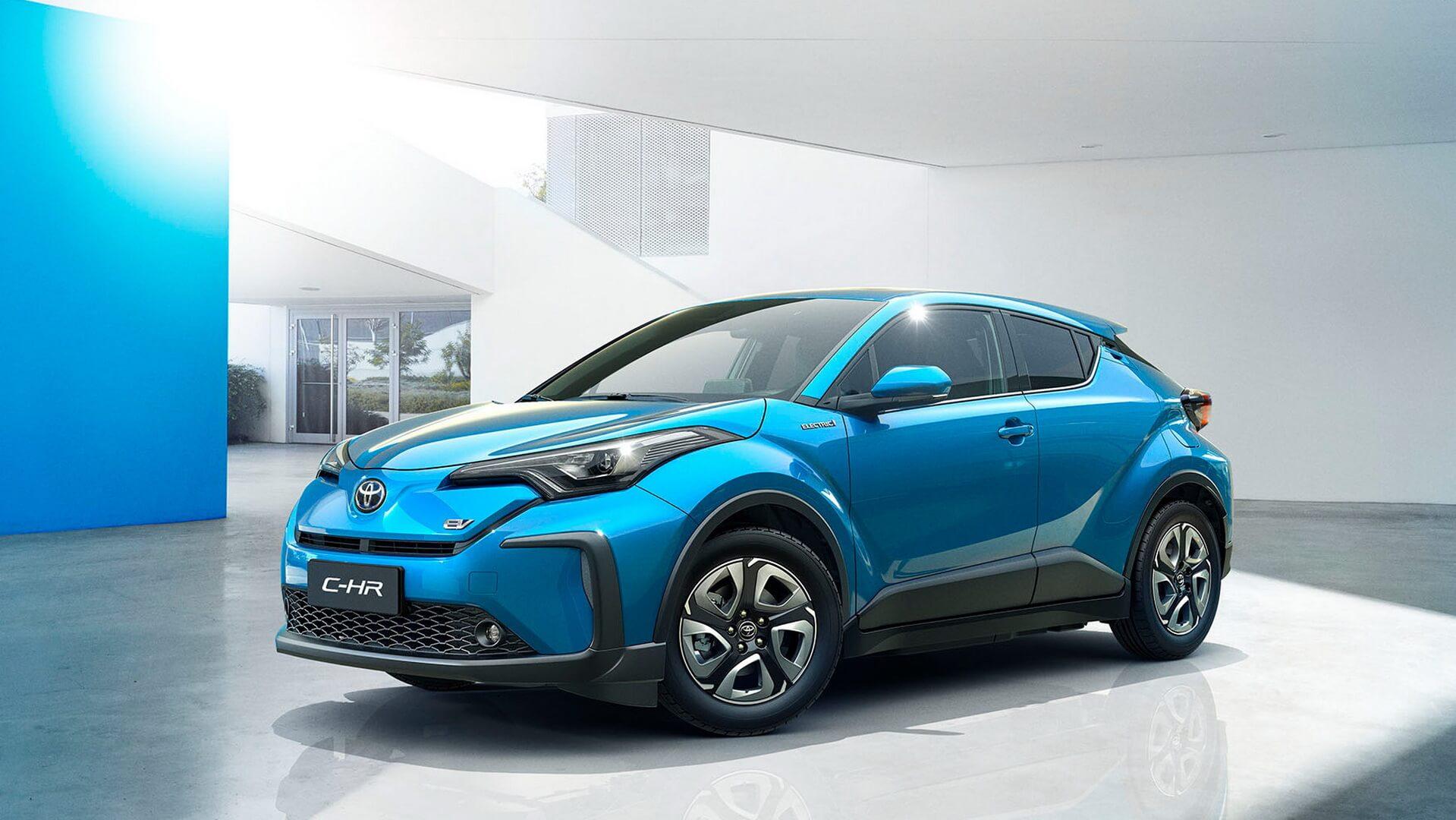 Электрический кроссовер GAC Toyota C-HR