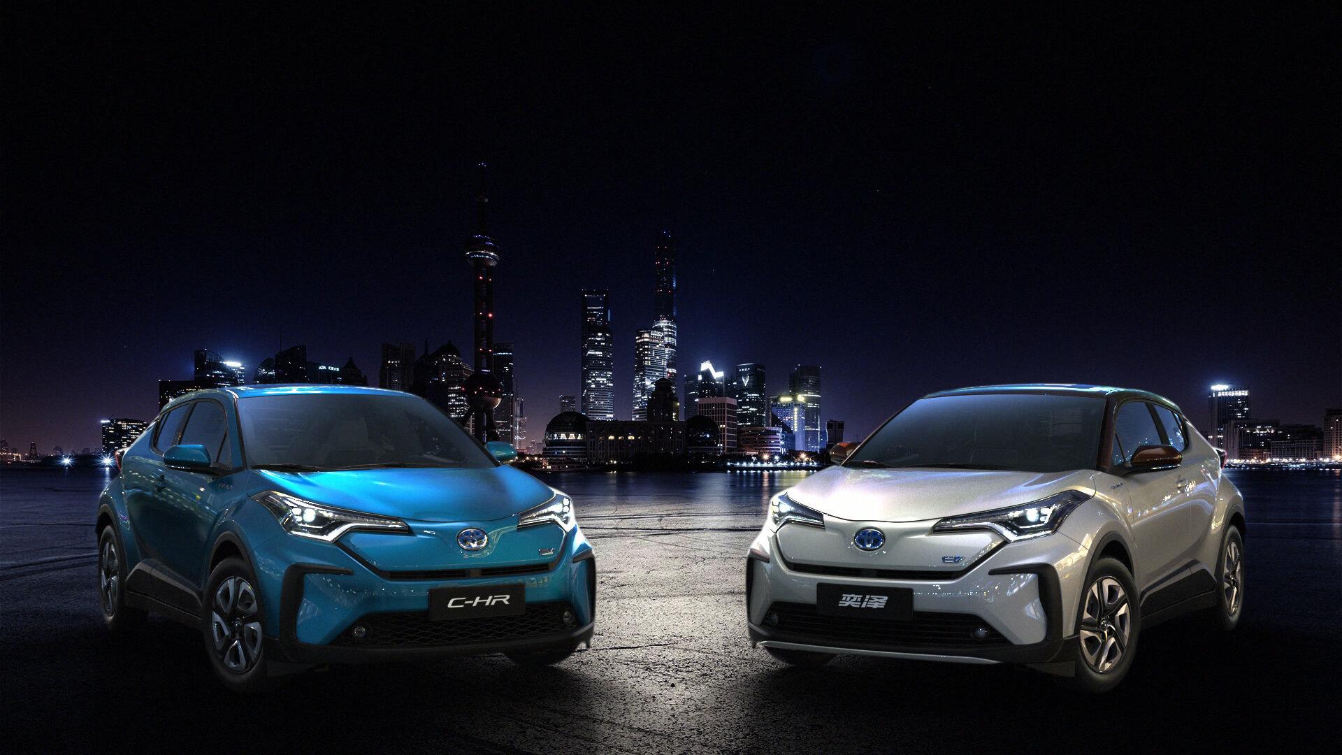 Toyota выпустит полностью электрические модели C-HR/IZOA