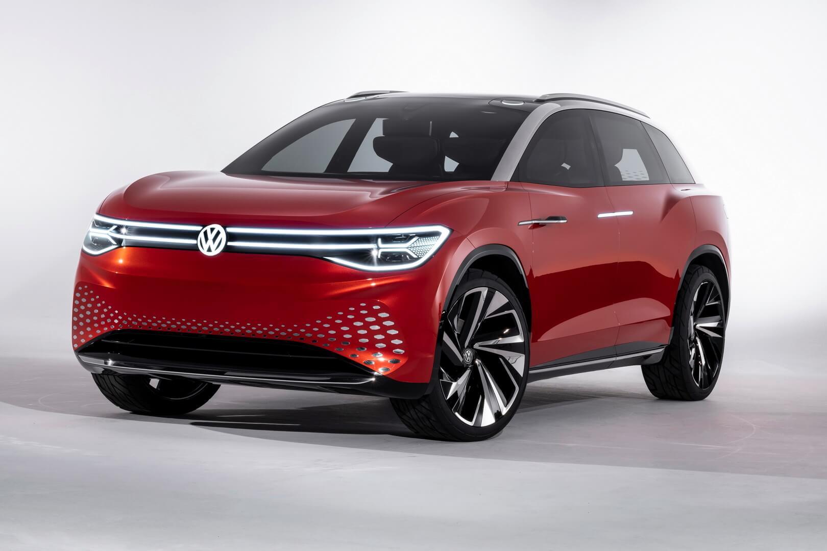 Новый электрический шедевр Volkswagen — внедорожник I.D. ROOMZZ