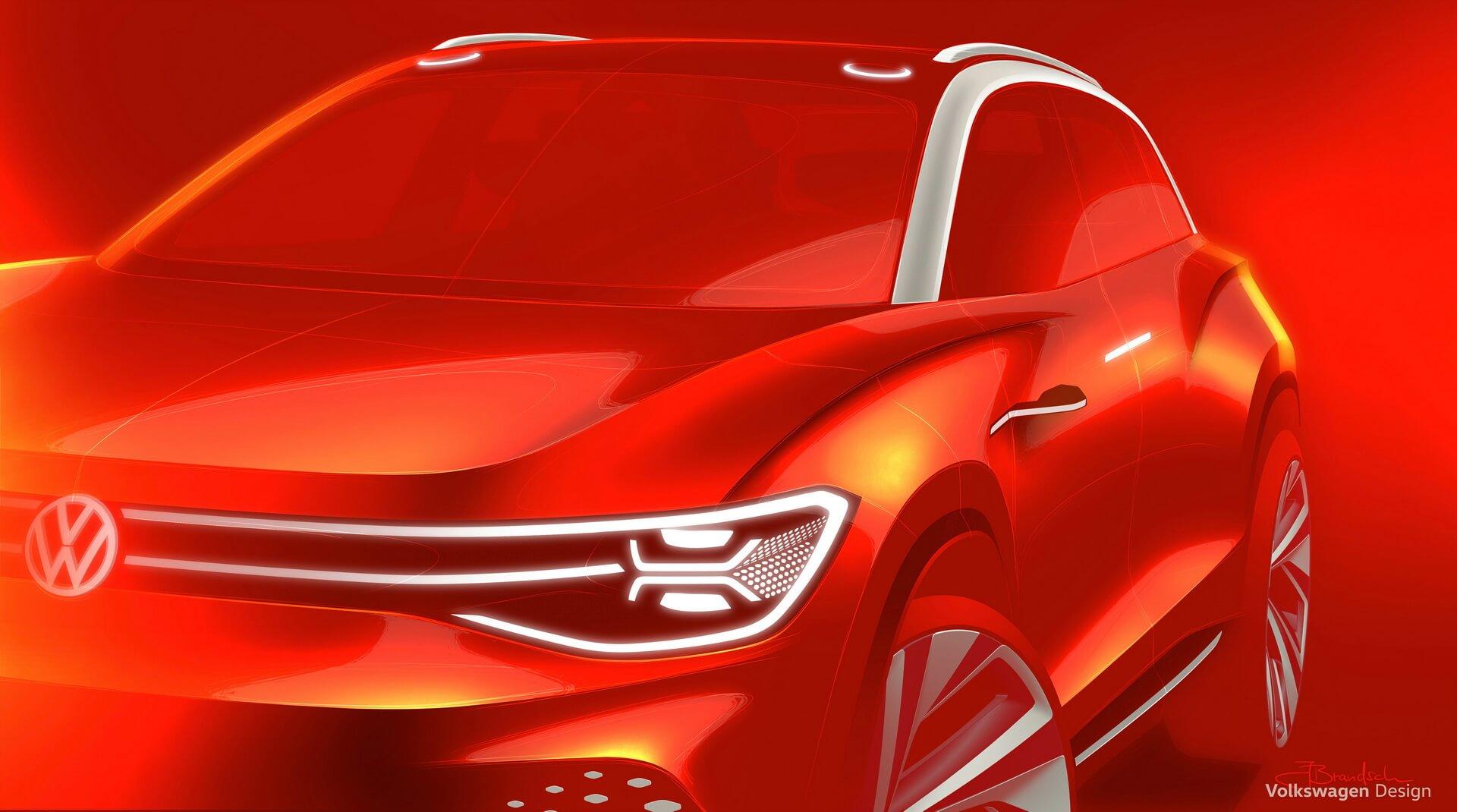VW расширяет свою электрическую линейку «ID» полноразмерным внедорожником ROOMZZ