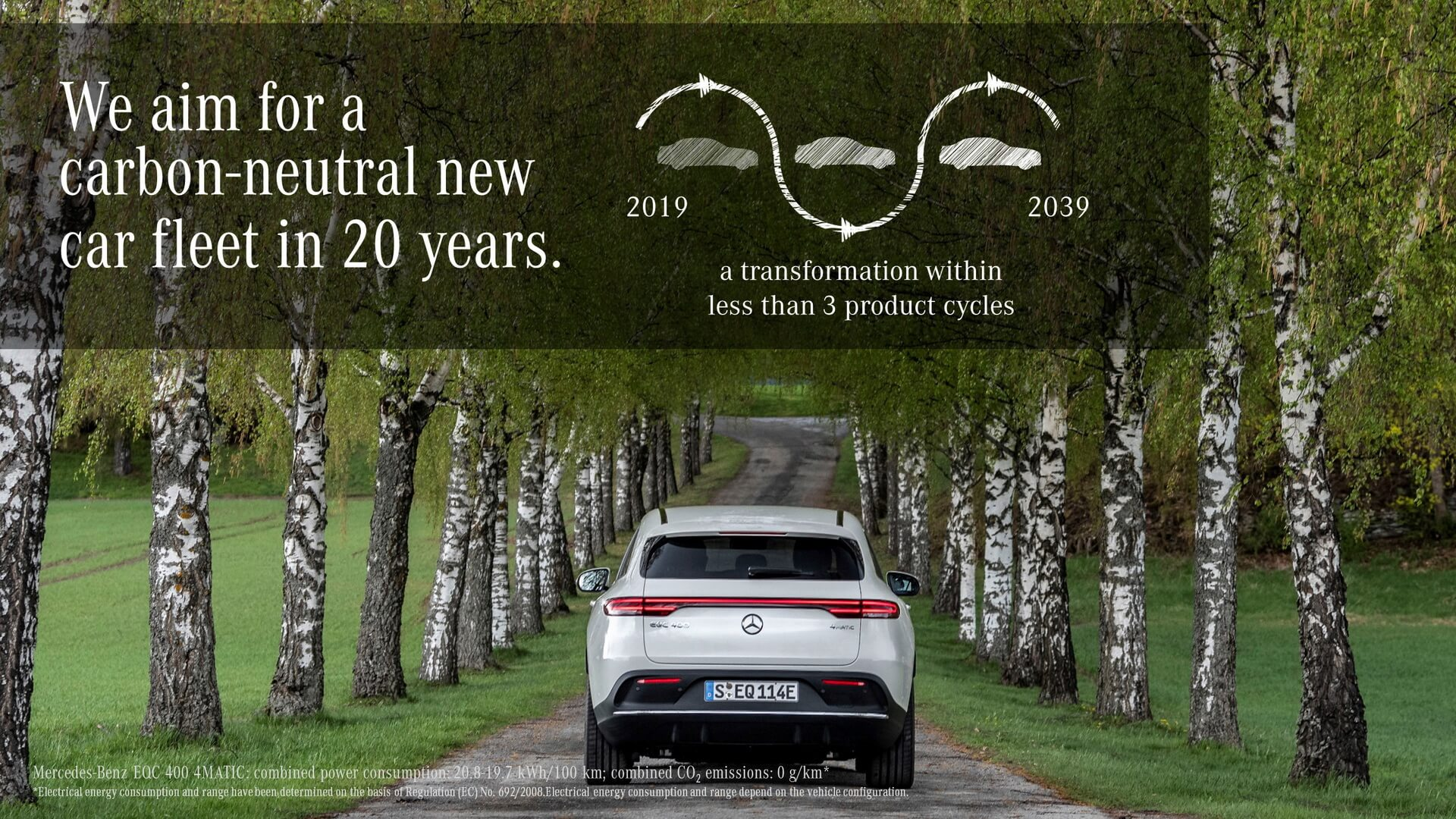 Mercedes-Benz представил экологическую доктрину Ambition 2039