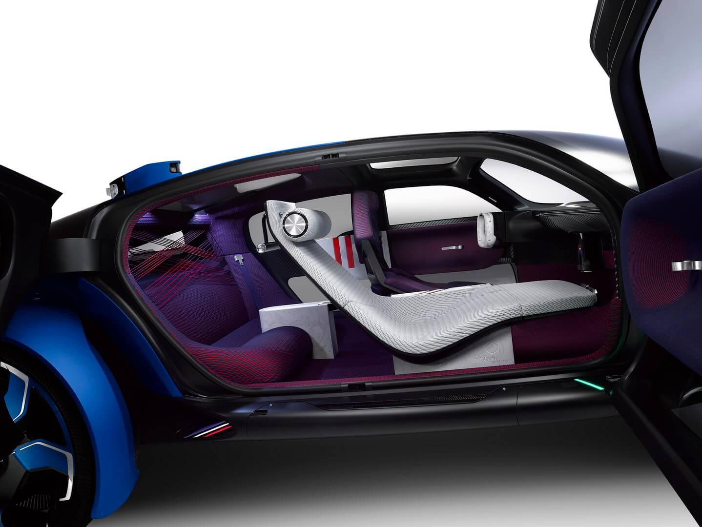 Салон футуристического электрокара Citroën 19_19