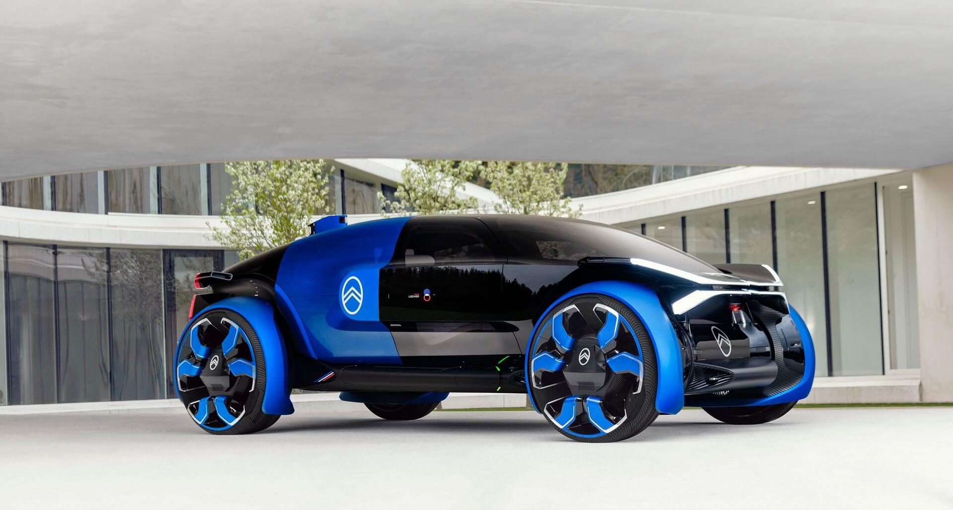Citroën 19_19 — электрокар будущего сзапасом хода 800км
