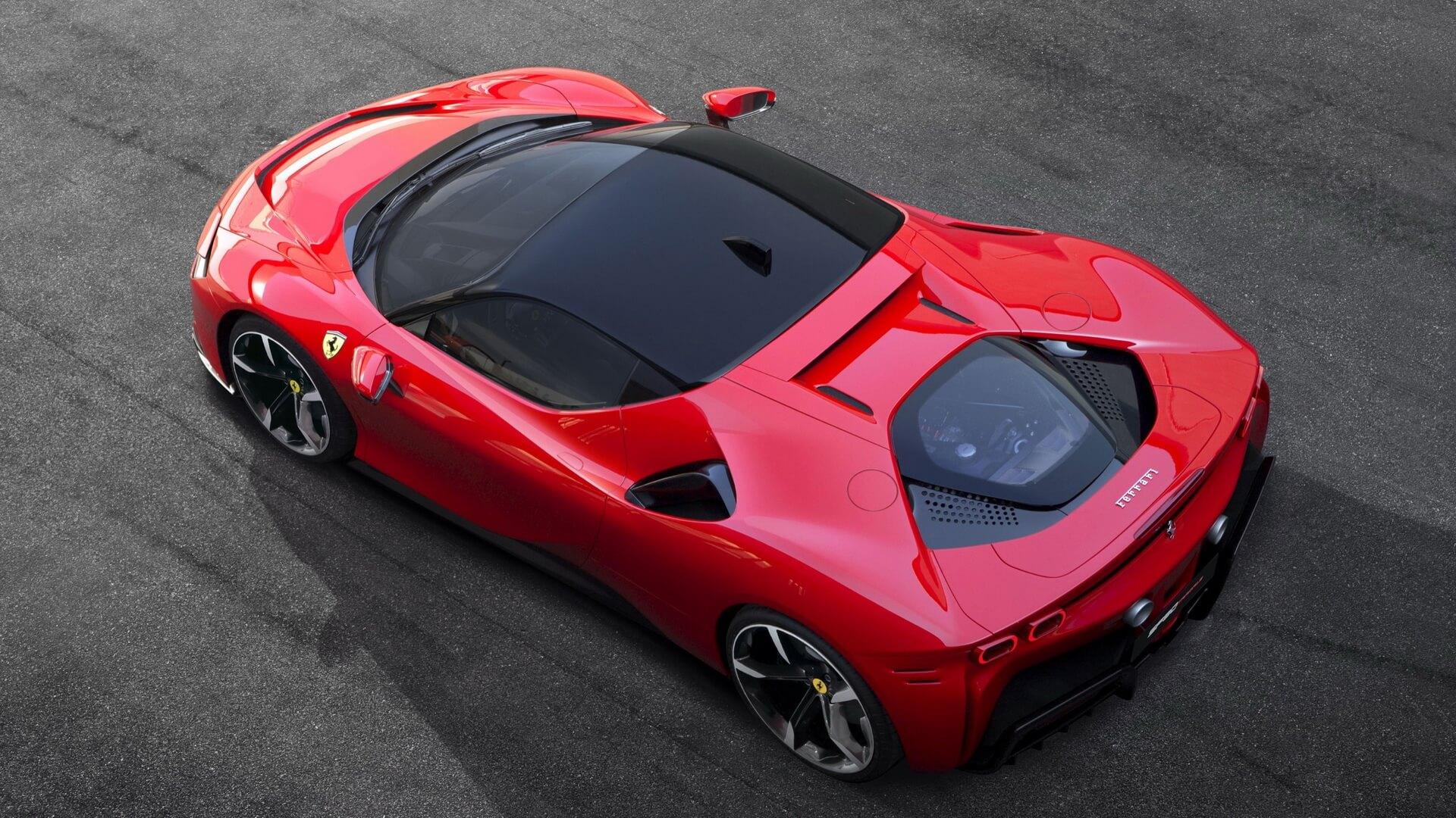 Ferrari SF90 Stradale: плагин-гибридный суперкар с 4 двигателями
