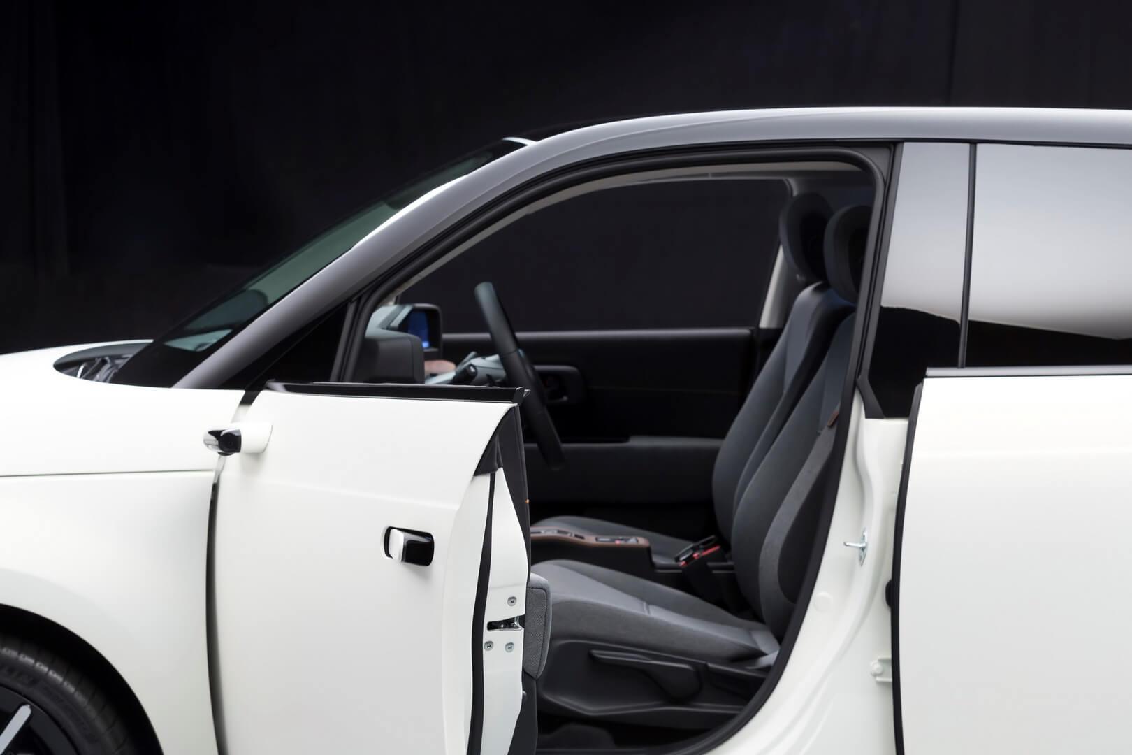 Honda e будет использовать боковые камеры-зеркала