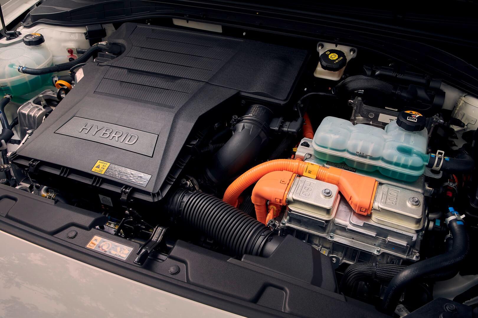 Гибридная установка Hyundai IONIQ
