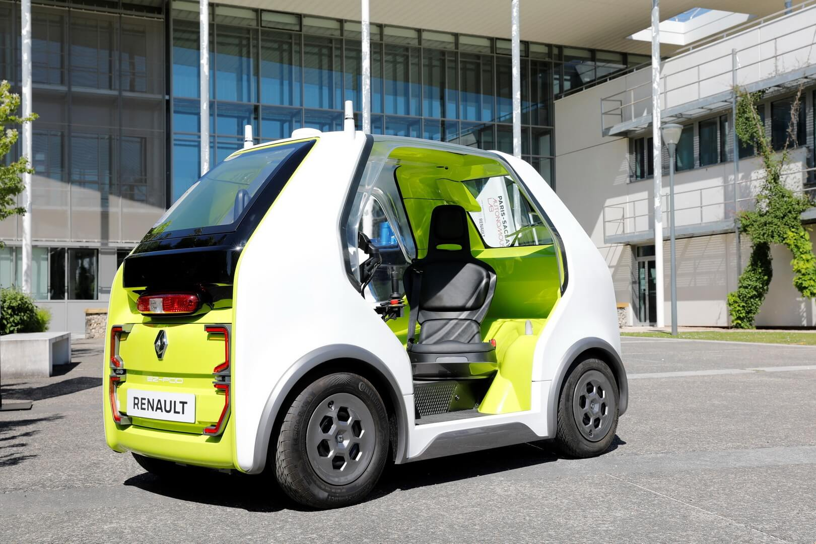 Концепт автономного электромобиля Renault EZ-POD