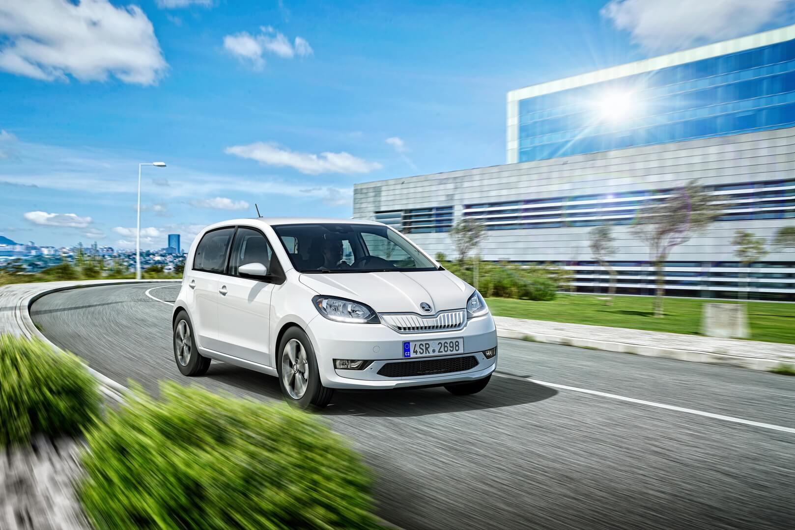 Skoda представила свой первый электромобиль CITIGOe iV