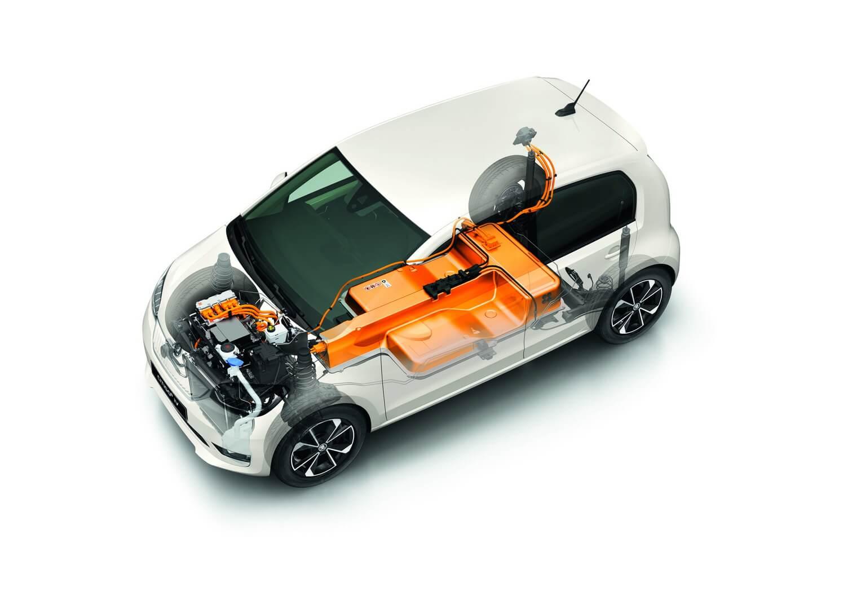 Силовая установка электромобиля CITIGOe iV