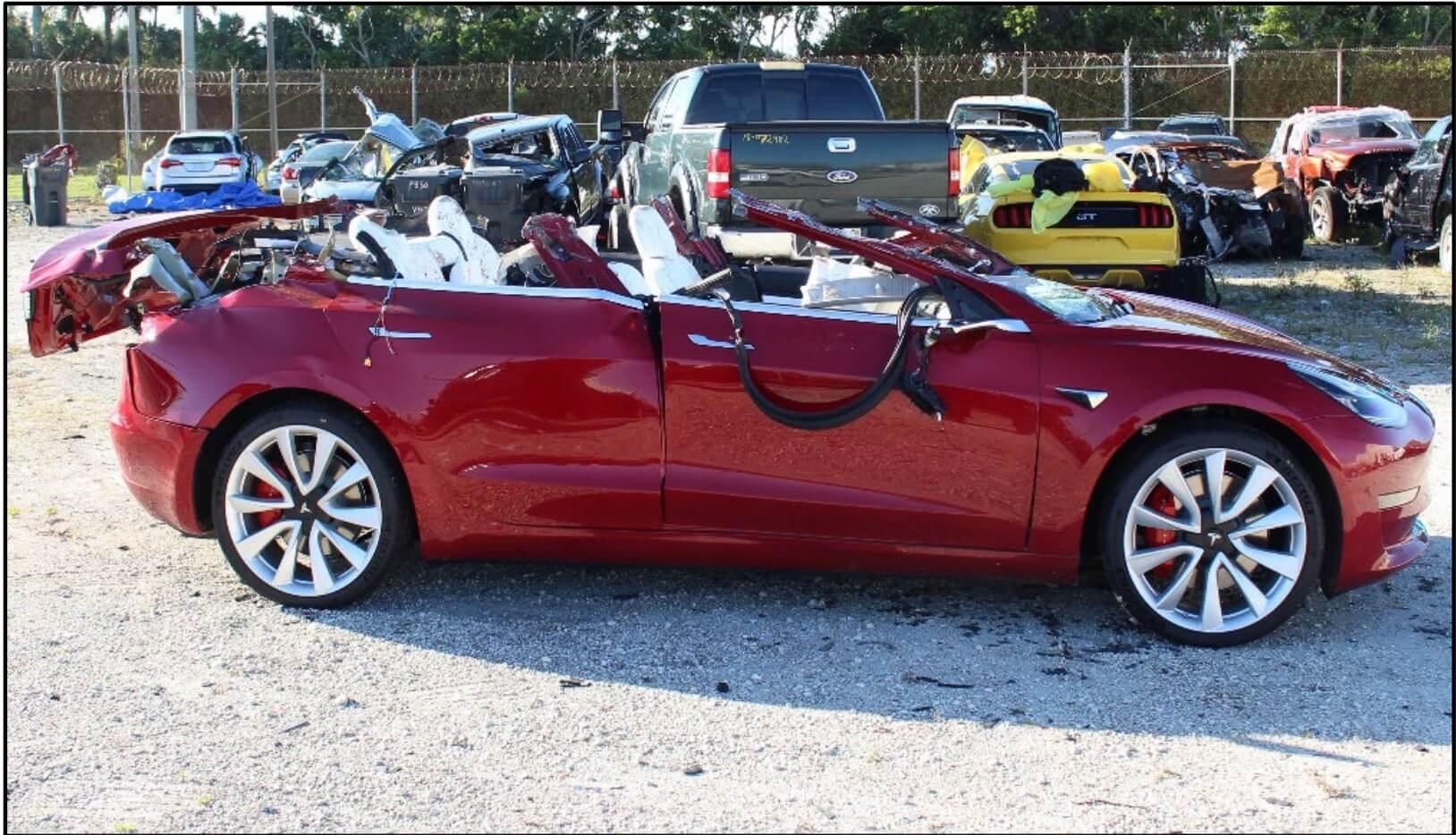 В США произошла смертельная авария с участием Tesla Model 3 в режиме автопилота